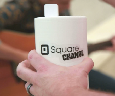 Square Change Jar